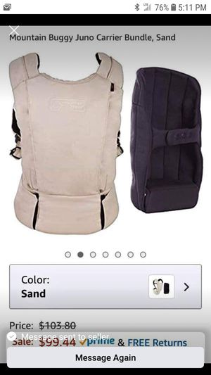 Baby carrier JUNO for Sale in Orlando, FL