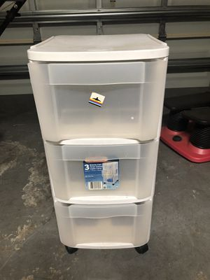 Plastic drawer organizer for Sale in Fort Lauderdale, FL