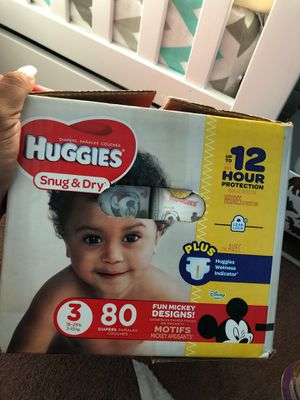 Huggies diapers size 3 for Sale in Whittier, CA