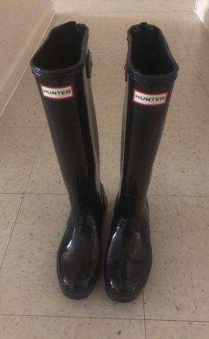 HUNTER rain boots for Sale in El Paso, TX