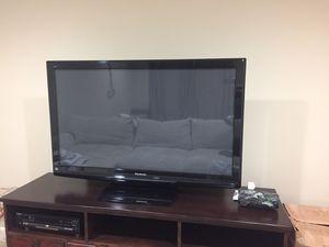 "50"" Panasonic plasma TV for Sale in Wilsonville, OR"