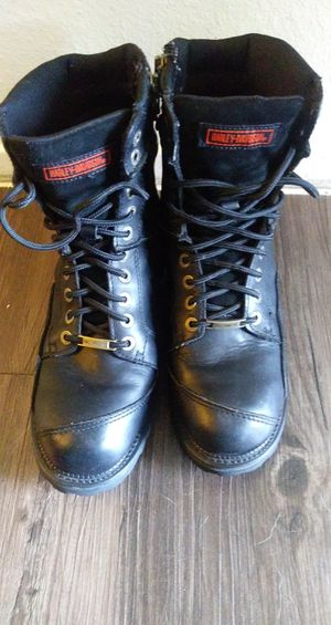 Mens Harley Davidson Motorcycle Boots for Sale in Austin, TX