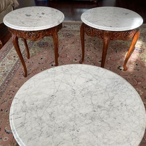 Kimball furniture coffee table and two side tables for Sale in Fresno, CA
