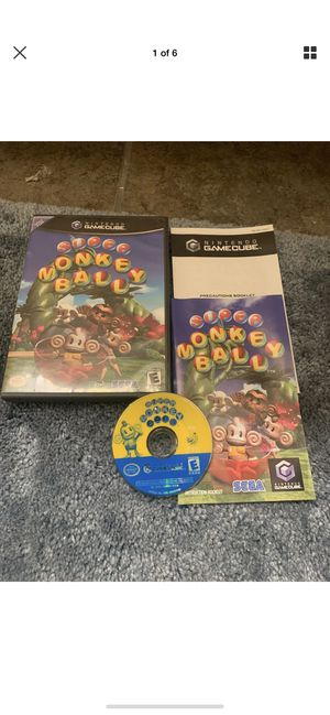 SUPER MONKEY BALL 2 (Nintendo GameCube, 2002) Black Label, Complete And Tested for Sale in Columbus, OH