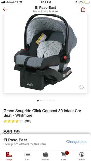 New Graco snugride 30 Car Seat for Sale in El Paso, TX