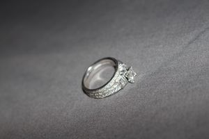 Diamond bridal set engagement wedding ring for Sale in Edgewood, MD