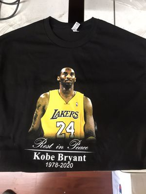 KOBE BRYANT SHIRTS. ALL SIZES for Sale in Sylmar, CA