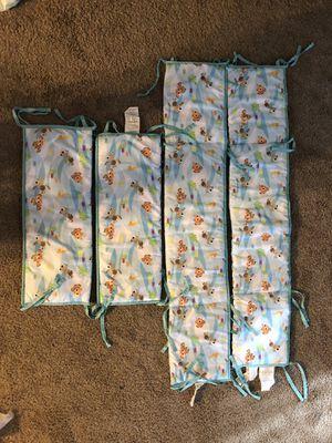 Baby Finding Nemo Crib Bumper Guard Set for Sale in Waianae, HI