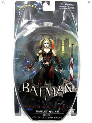 Batman - Arkham City - Harley Quinn - Series 1 - Dc Direct - Collector Action Figure - Brand New - Exclusive Toys for Sale in Hawthorne, CA