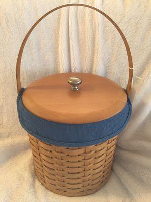 Vintage Longaberger Ice bucket/basket MINT for Sale in Scappoose, OR