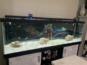 125 Gallon Fish tank! Fishes included! for Sale in Nashville, TN