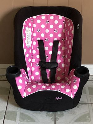 LIKE NEW MINNIE MOUSE CONVERTIBLE CAR SEAT for Sale in Jurupa Valley, CA