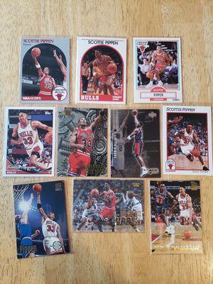 Scottie Pippen Chicago Bulls NBA basketball cards for Sale in Gresham, OR