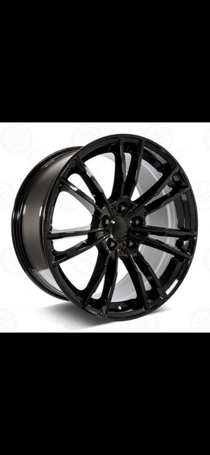 """Bmw 20"""" new m5 style rims tires set newer 3/5 ser 5x112 for Sale in Hayward, CA"""