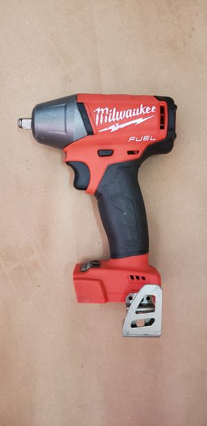 Milwaukee M18 FUEL 18-Volt Lithium-Ion Brushless Cordless 3/8 in. Compact Impact Wrench with Friction Ring (Tool-Only) for Sale in Greenville, SC