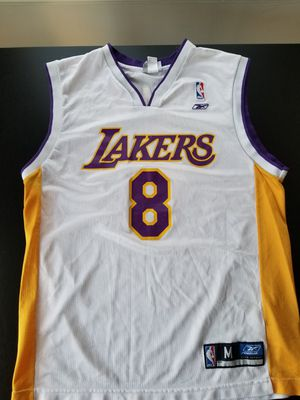 Vintage Authentic Reebok Screenprinted 81 Pts Kobe Bryant 8 Jersey Size M can Fit L for Sale in Los Angeles, CA