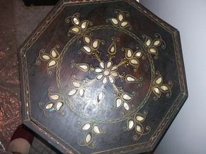 Two antique tables hand made from Turkey for Sale in Woodbridge, VA