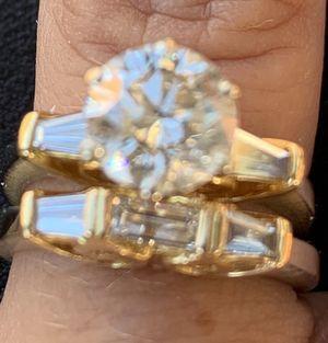 2.11 ct diamond wedding set for Sale in Tolleson, AZ