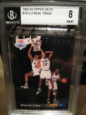 1992-1993 Shaquille O'Neal trade card, 8 NM-MT for Sale in San Jose, CA