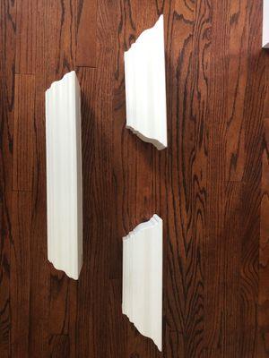 3 white floating shelves for Sale in Homer Glen, IL