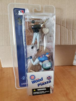 Sealed McFarlane Sportspicks Mike Piazza and Kerry Wood for Sale in Lynnwood, WA