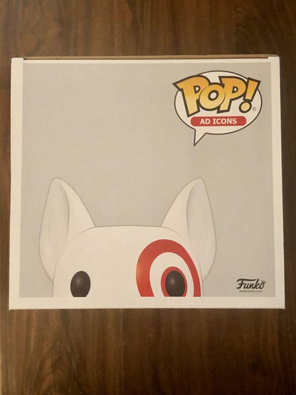 Funko Pop Ad Icon Bullseye 10in Target Exclusive