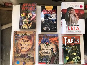 STAR WARS and Harry Potter, and Tolkien Books for Sale in Orange, CA