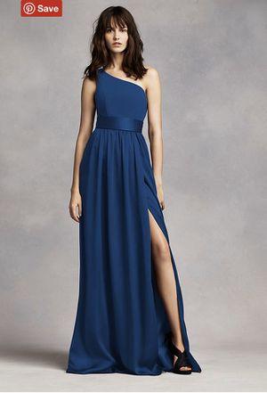 One Shoulder Dress with Satin Sash for Sale in Atlanta, GA