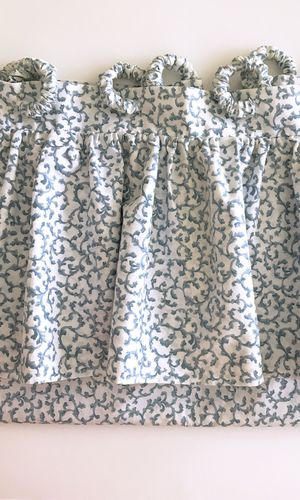 Shower Curtain w/Valance & Matching Hooks for Sale, used for sale  Mount Olive Township, NJ