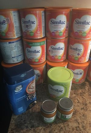 Baby food baby Cereal baby clothes etc for Sale in Richmond, VA