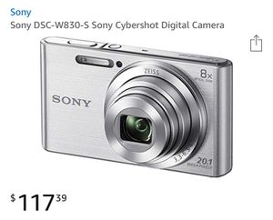 Sony digital camera for Sale in Orlando, FL