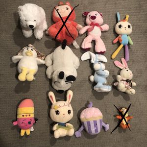 Lot of stuffed toys for Sale in Seattle, WA