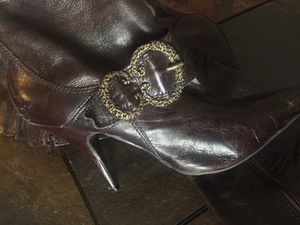 Womens Brown long boots size 9 for Sale in Goodyear, AZ