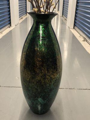 Green Dry Plant Floor Vase for Sale in Haddon Township, NJ