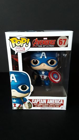 Funko Pop!Vaulted Avengers Age Of Ultron Captain America for Sale in Federal Way, WA