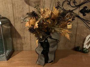 Large mason jar fall arrangement for Sale in Prospect, CT