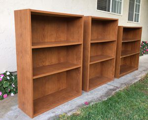 Bookcases - great condition for Sale in San Jose, CA