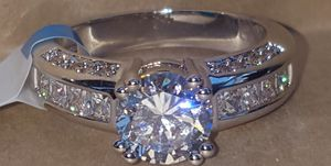 New! R.S. Covenant's Silver CZ Ring Size 9 for Sale in Moreno Valley, CA