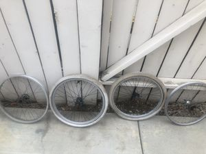 20 in BMX rims DK and Redline hubs for Sale in Chino Hills, CA