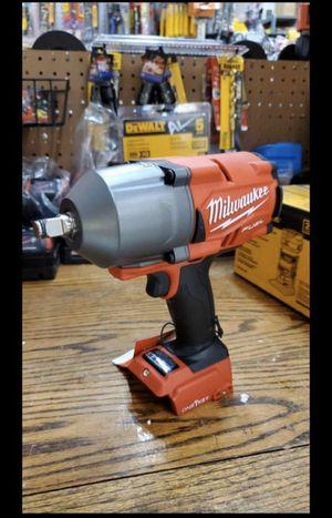MILWAUKEE M18 FUEL BRUSHLESS ONE KEY HIGH TORQUE 1/2 WRENCH IMPACT for Sale in San Bernardino, CA