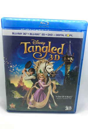 Disney's Tangled 3D Blu-ray DVD for Sale in Corona, CA