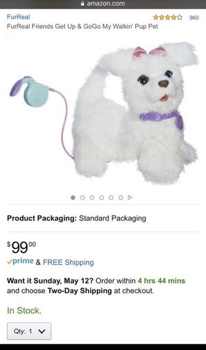 FurReal Friends Get Up & GoGo Toy for Sale in Boca Raton, FL
