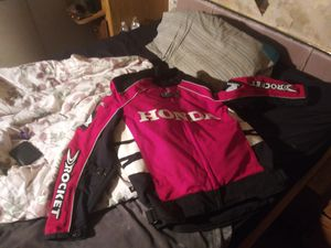 2 Honda joe rocket motorcycle jackets been use once or twice just like new for Sale in Lebanon, TN