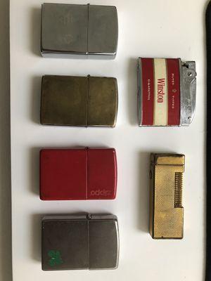 Vintage Zippo Lighters for Sale in Irvine, CA
