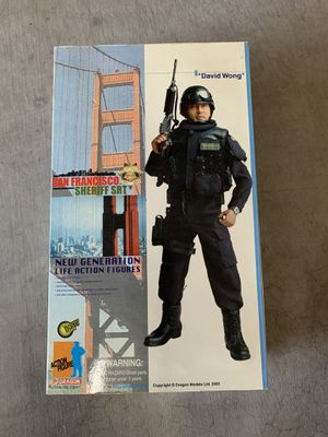 """David Wong"" San Francisco Sheriff SRT collectible action figure for Sale in Gilbert, AZ"