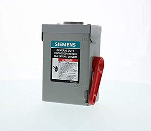 Siemens 30A, 240VAC, 250VDC, 2 pole for Sale in Vallejo, CA