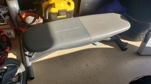 Bench for sale with weight COMPLETE for Sale in Menifee, CA