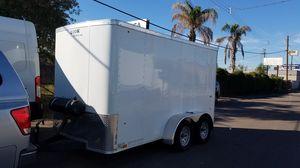 Trailer 6x12 Like new LOOK tandem axel clean for Sale in Phoenix, AZ