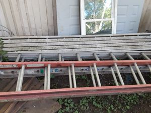 Ladders and walk plank for Sale in Olathe, KS