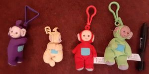 Teletubbies key chain plush $19 all for Sale in Lawndale, CA